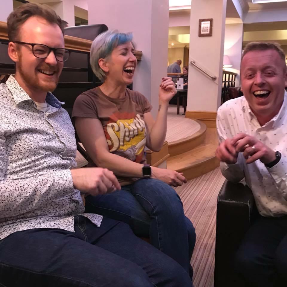 Alex Wardle, Vicky Fraser and Dom Hodgson